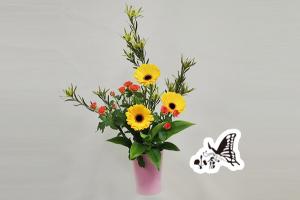 投入れ(季節の花、花のみ)
